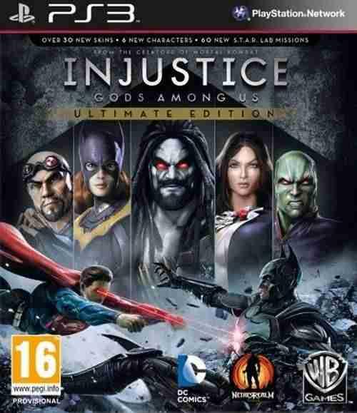 Descargar Injustice Gods Among Us Ultimate Edition [MULTI][Region Free][FW 4.4x][DUPLEX] por Torrent
